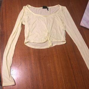 Urban yellow long sleeve